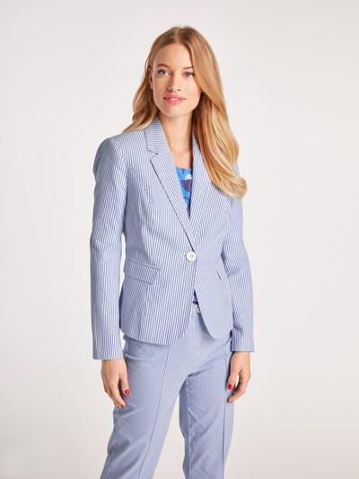 heine Blazer in blau / offwhite, Modelansicht