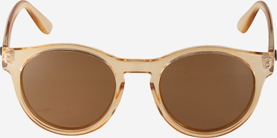 LE SPECS Runde Sonnenbrille 'Hey Macarena' in hellbraun, Produktansicht