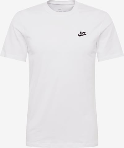 Nike Sportswear Shirt 'Club' in de kleur Wit, Productweergave