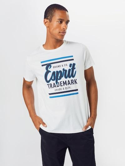 ESPRIT Särk sinine / öösinine / valkjas: Eestvaade