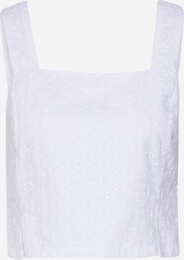 EDITED Chemisier 'Raven' en blanc / blanc cassé, Vue avec produit