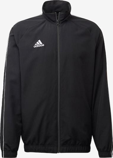 ADIDAS PERFORMANCE Kurtka sportowa 'Core 18' w kolorze czarny / białym, Podgląd produktu