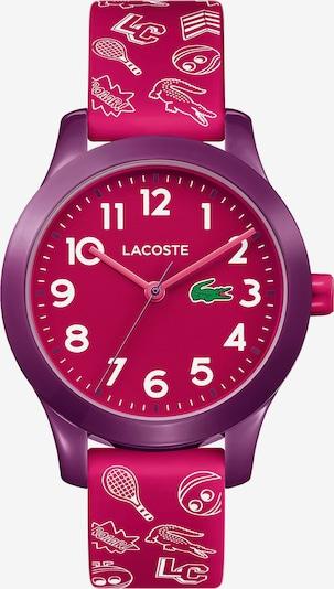 LACOSTE Horloge in de kleur Groen / Bessen / Eosine / Wit, Productweergave