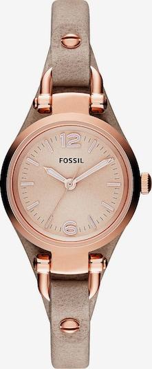 FOSSIL Uhr in sand / rosegold, Produktansicht