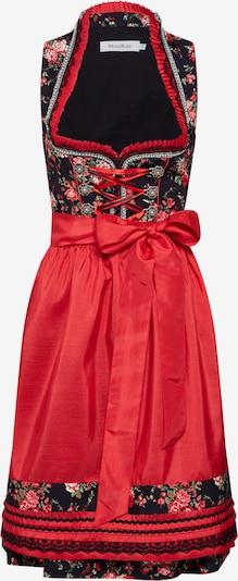 Rochițe tiroleze MONDKINI pe roșu / negru, Vizualizare produs