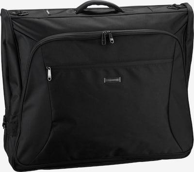 TRAVELITE Kleidersack in schwarz: Frontalansicht