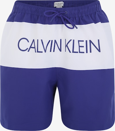 Calvin Klein Swimwear Badeshorts in blau, Produktansicht