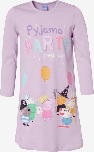 Peppa Pig Nachthemd in lila / mischfarben, Produktansicht