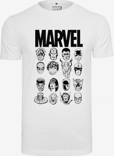 Mister Tee Shirt  'Marvel Crew Tee' in schwarz / weiß, Produktansicht