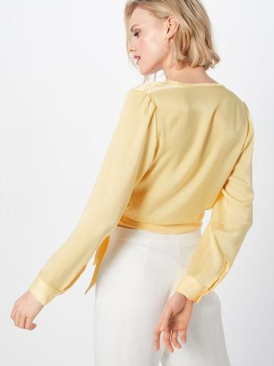 LeGer by Lena Gercke Chemisier 'Tilda' en jaune: Vue de dos