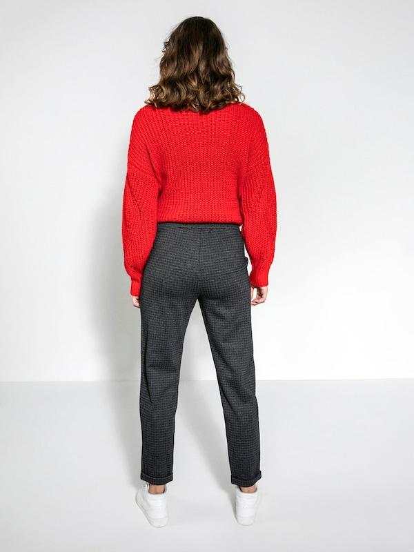 PIECES Einfarbige Jersey Hose