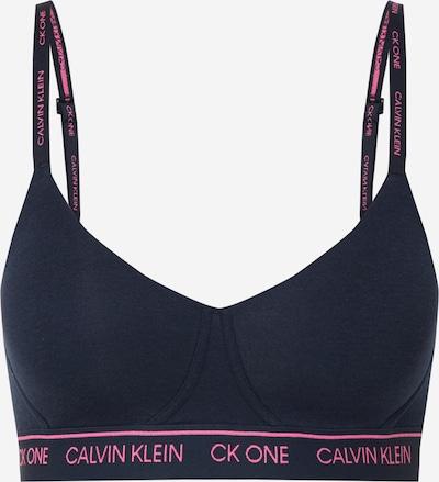 Calvin Klein Underwear Soutien-gorge en bleu foncé, Vue avec produit