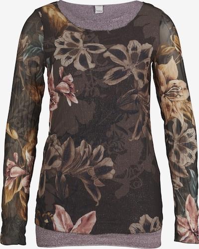 heine Shirt in braun / mischfarben, Produktansicht