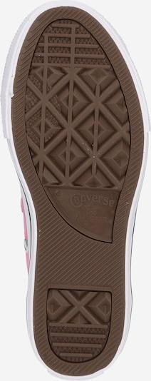 CONVERSE Sneaker 'ALL STAR' in rosa / weiß: Ansicht von unten