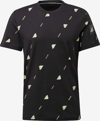 ADIDAS PERFORMANCE T-Shirt 'Must Haves Graphic' in schwarz / weiß, Produktansicht
