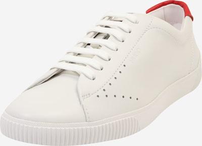 HUGO Sneaker 'Zero_Tenn_Nl' in rot / weiß, Produktansicht