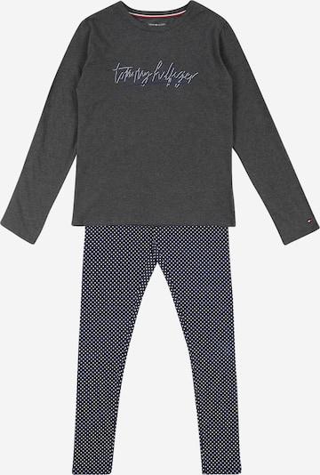 Tommy Hilfiger Underwear Nachtwäsche 'Signature' in navy / hellgrau, Produktansicht