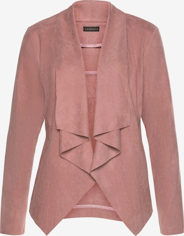 LASCANA Jacke in Pink