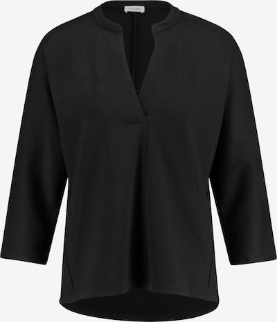 GERRY WEBER Oversize Sweatshirt in schwarz: Frontalansicht