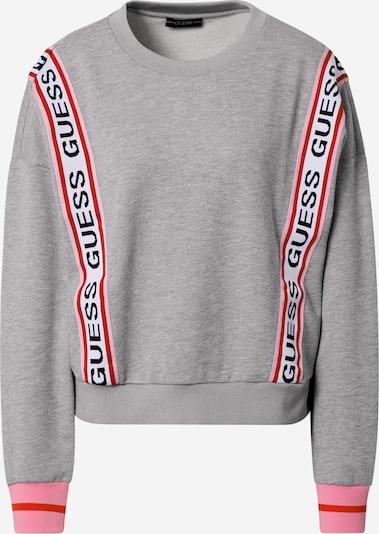 GUESS Mikina 'Clemence' - sivá / svetloružová / červená / čierna / biela, Produkt
