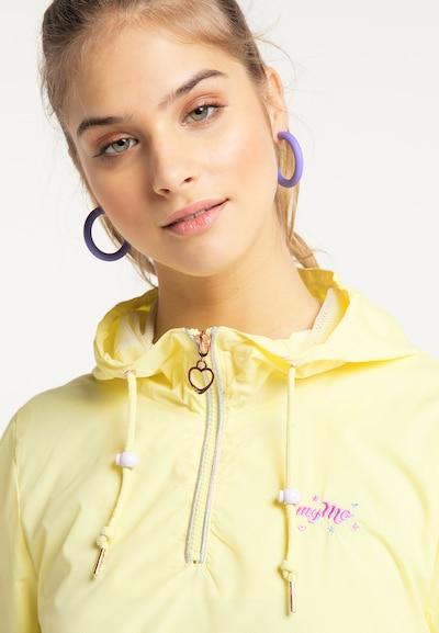 MYMO Windbreaker in gelb, Produktansicht