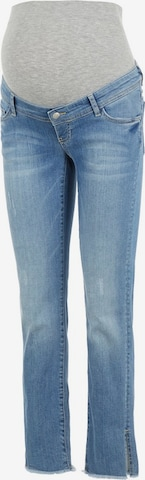 MAMALICIOUS Jeans 'Crystal' in Blue