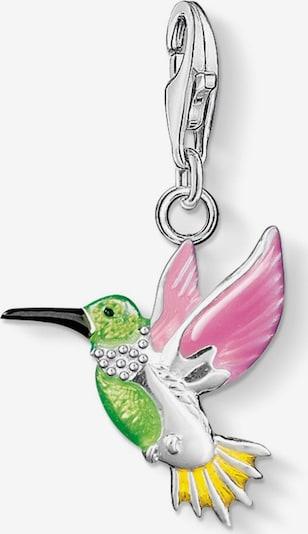 Thomas Sabo Pendant 'Bunter Kolibri' in Yellow / Green / Pink / Black / Silver, Item view