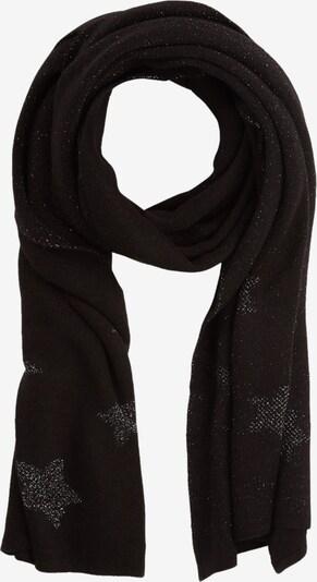 s.Oliver BLACK LABEL Schal in schwarz / silber, Produktansicht
