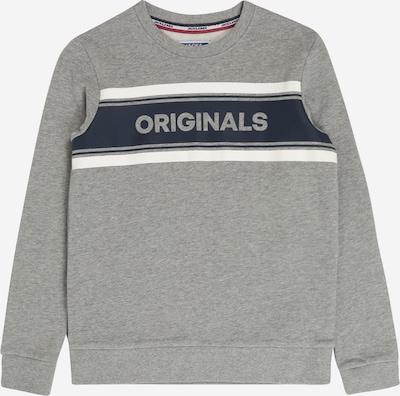 Jack & Jones Junior Sweatshirt 'NEWSHAKEDOWN' in hellgrau, Produktansicht