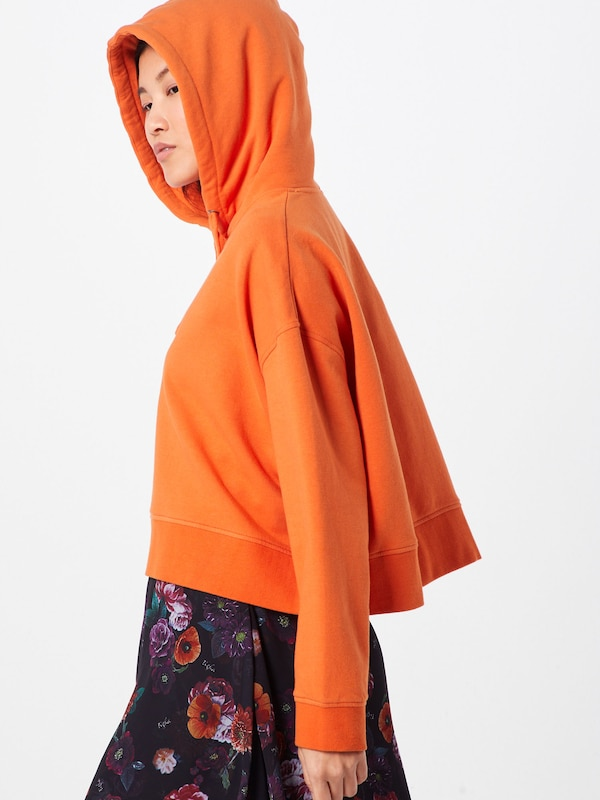 tigha Sweatshirt 'Leonie' in orange: Rückansicht