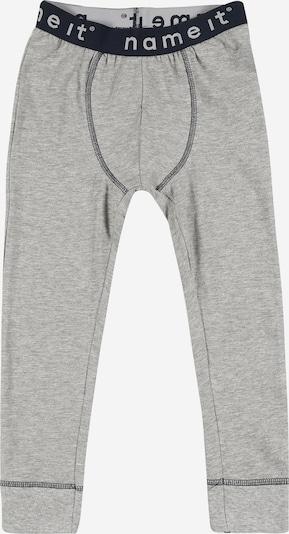 NAME IT Sous-vêtements 'JOHN' en gris chiné: Vue de face