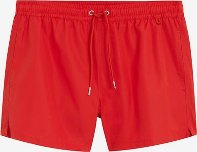 MANGO MAN Badehose 'Liso' in rot, Produktansicht