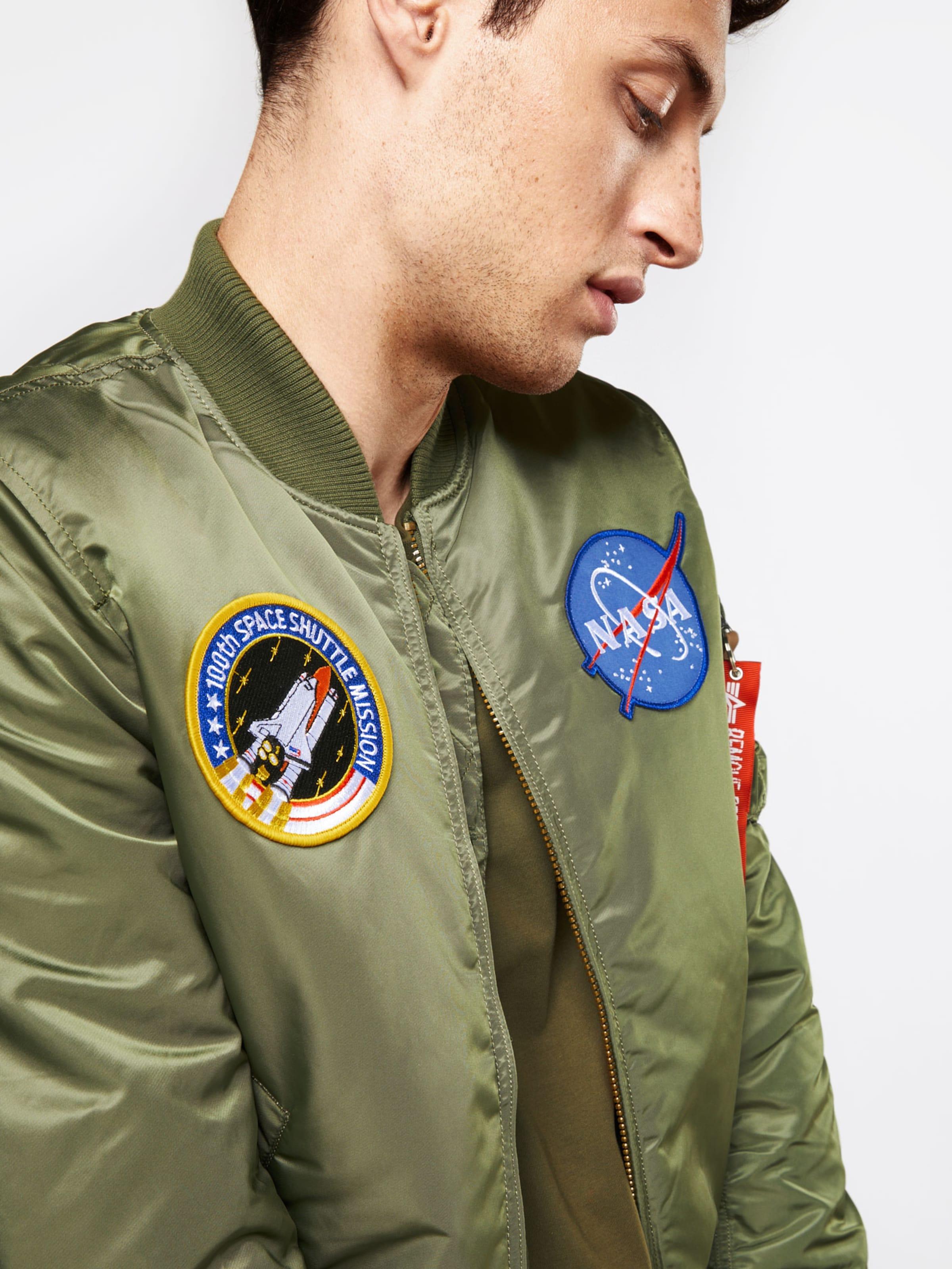 ALPHA INDUSTRIES Bomberjacke 'MA-1 VF NASA' Freies Verschiffen Empfehlen Spielraum Billig Echt 100% Authentisch Günstiger Preis Gut Verkaufen Online 3ijw2jz599