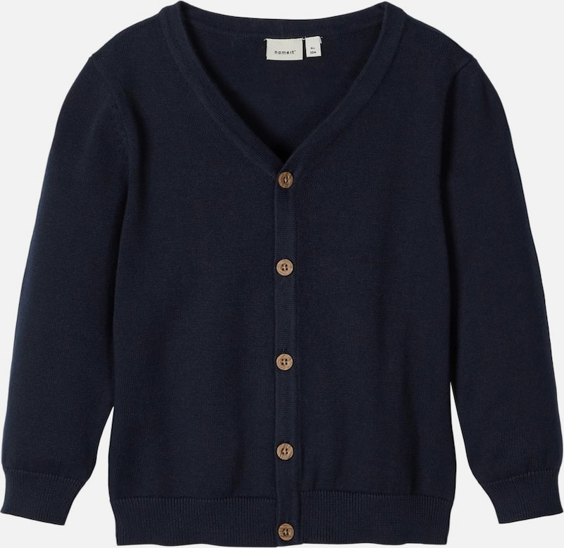 NAME IT Cardigan in dunkelblau: Frontalansicht