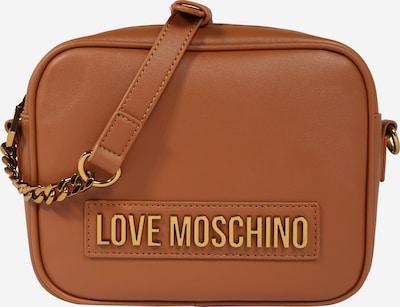 Geantă de umăr Love Moschino pe coniac: Privire frontală