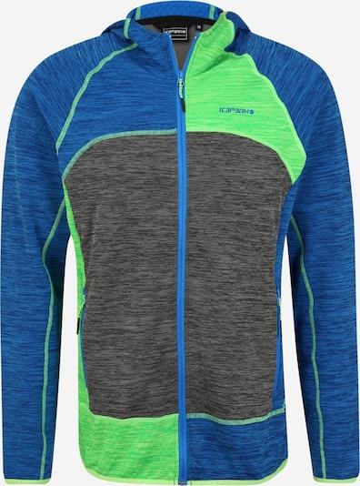 ICEPEAK Sportovní bunda 'ICEPEAK DELTON' - královská modrá / tmavě šedá / zelená, Produkt