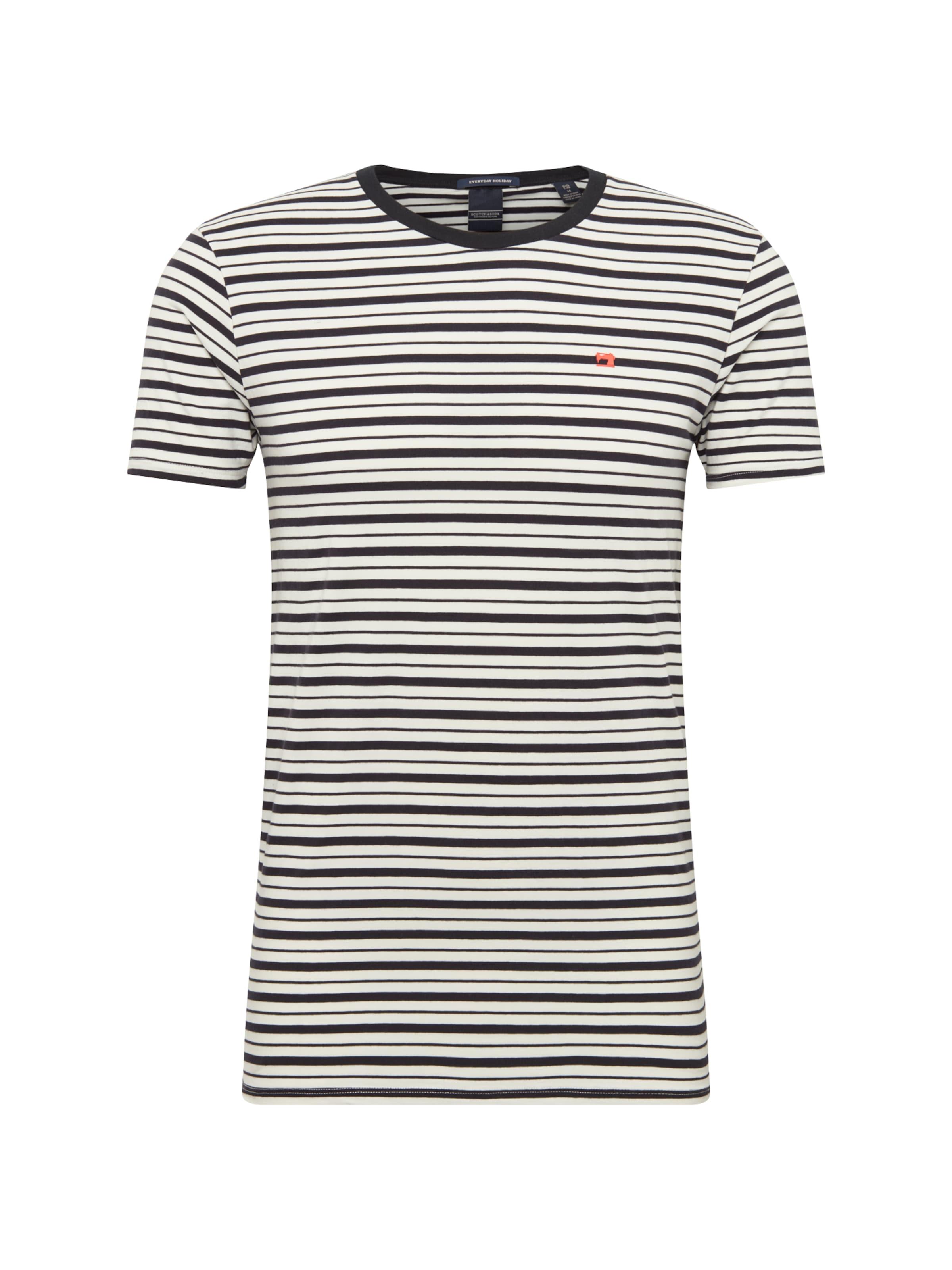 shirt Scotch Blanc T En amp; Noir Soda wxqCt0R