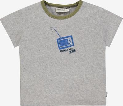 IMPS&ELFS T-shirt 'Detroit' in blau / grau / khaki, Produktansicht