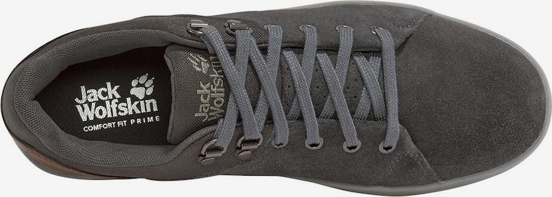 JACK WOLFSKIN Sneaker in braun / anthrazit aP0Zl0Nj