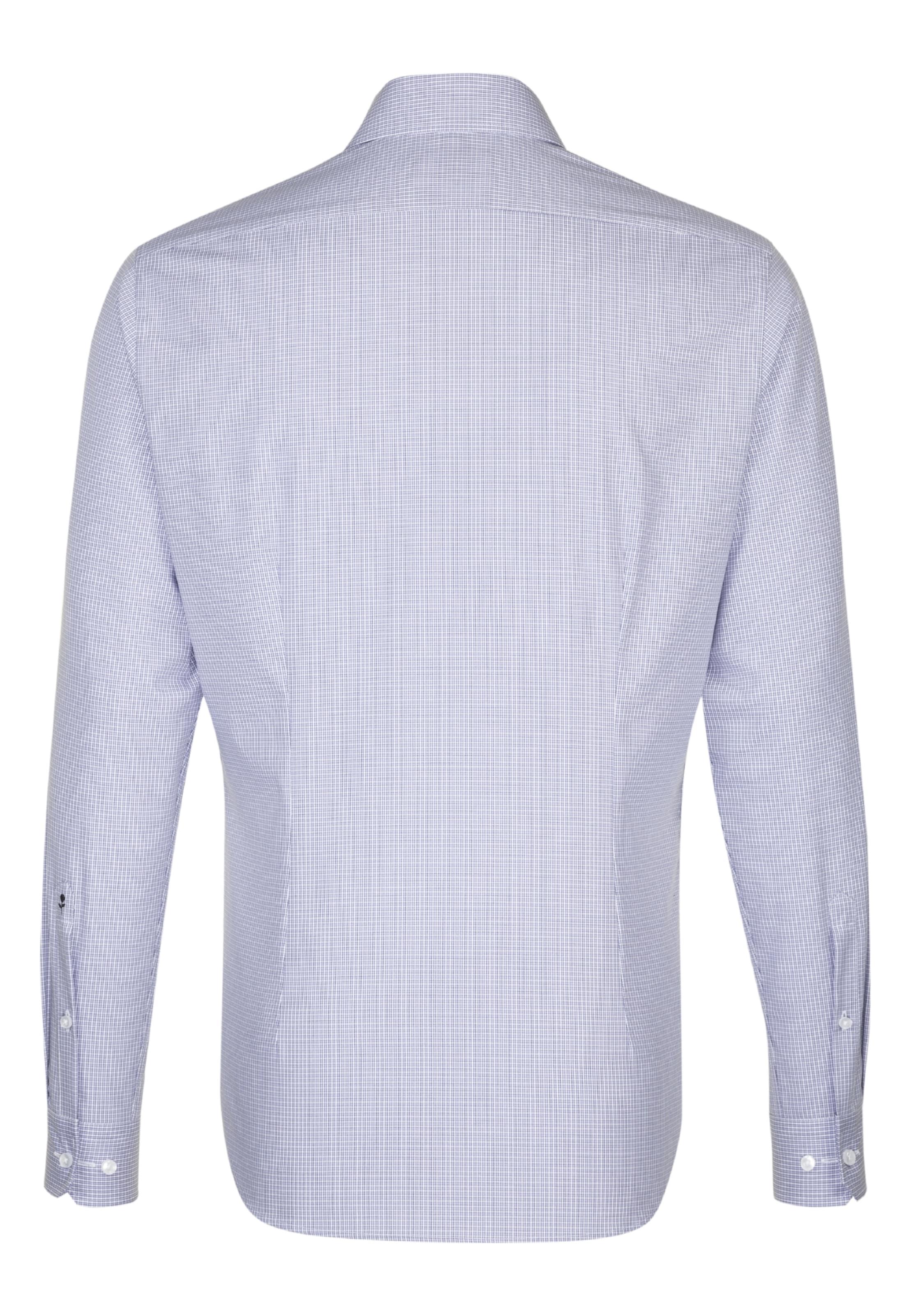 City hemd Hellblau Seidensticker 'tailored' In bgf76Yy