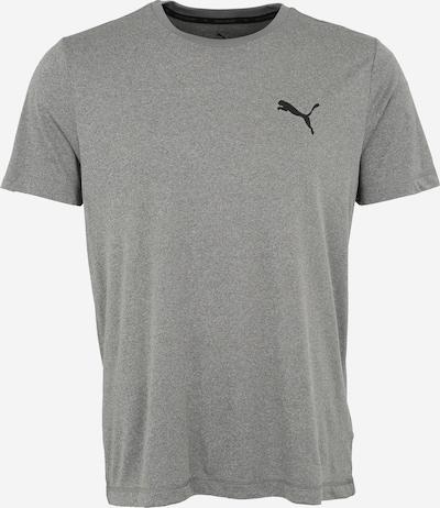 PUMA T-Shirt 'Ess Active' in grau / schwarz, Produktansicht