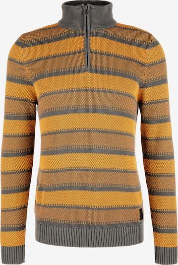 s.Oliver Pullover in gelb / grau, Produktansicht