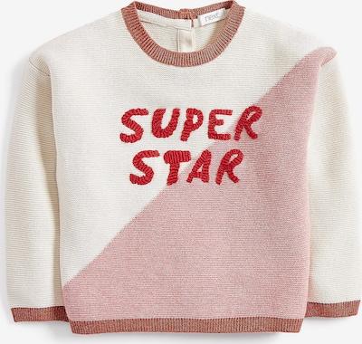 NEXT Pullover in beige / pink, Produktansicht