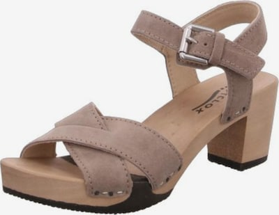 SOFTCLOX Sandale in taupe, Produktansicht