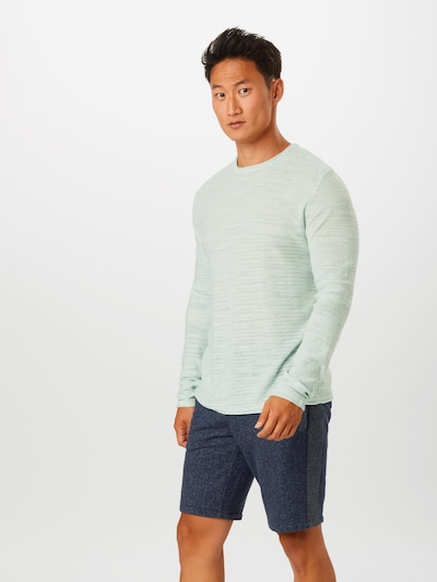 Only & Sons Pullover in pastellgrün: Frontalansicht