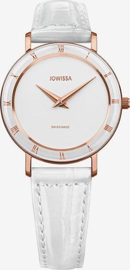 JOWISSA Quarzuhr 'Roma' in rosegold / weiß, Produktansicht