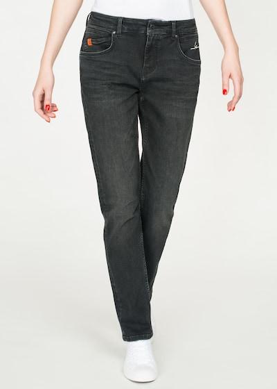 Miracle of Denim Paris Straight Fit Jeans in blau, Modelansicht