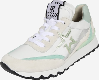 Paul Green Sneaker in beige / creme / gold / mint, Produktansicht
