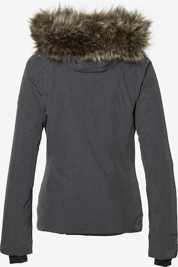 O'NEILL Sportovní bunda - tmavě šedá: Pohled zezadu