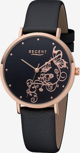 REGENT Uhr in schwarz, Produktansicht